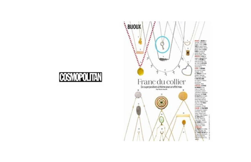 Article Cosmopolitan Collier en Argent Murat Paris