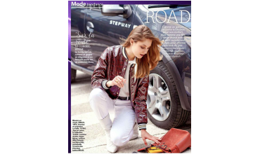 Les bijoux Murat Paris dans le magazine Femme Actuelle de Septembre